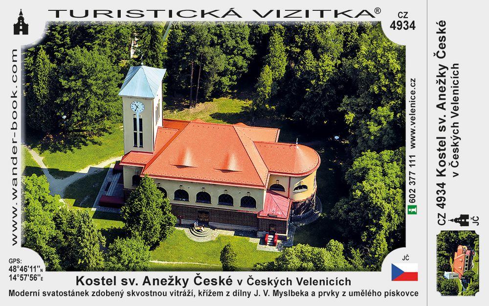 Kostel sv. Anežky České v Českých Velenicích