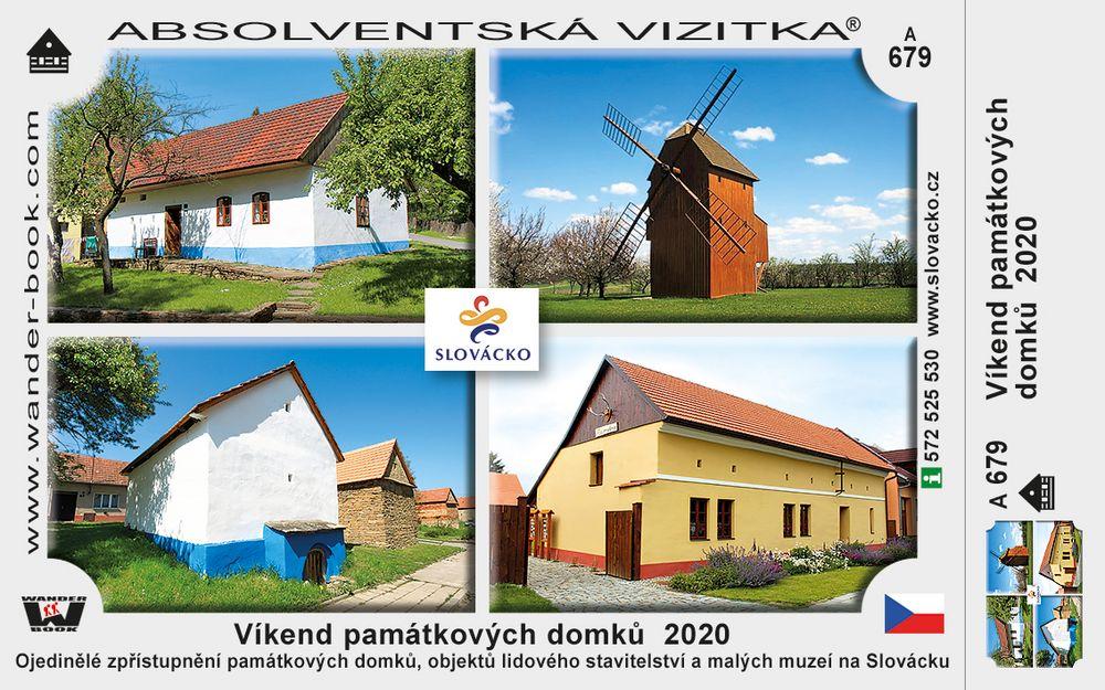 Víkend památkových domků  2020