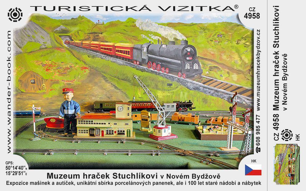 Muzeum hraček Stuchlíkovi v Novém Bydžově