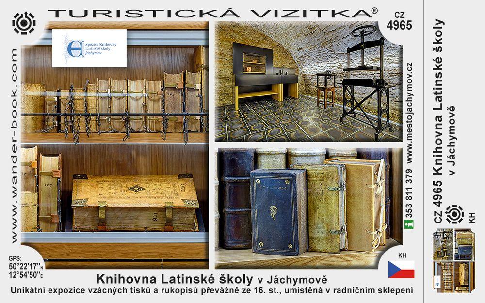 Knihovna Latinské školy v Jáchymově