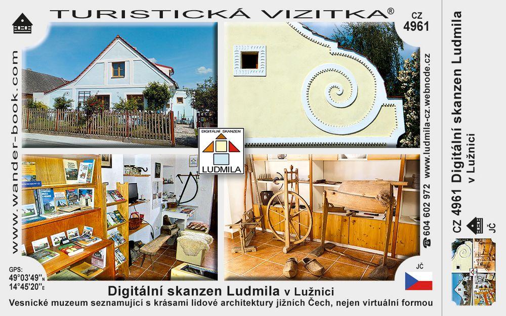 Digitální skanzen Ludmila v Lužnici