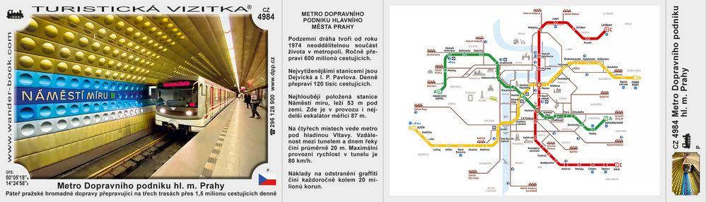 Metro Dopravního podniku hl. m. Prahy