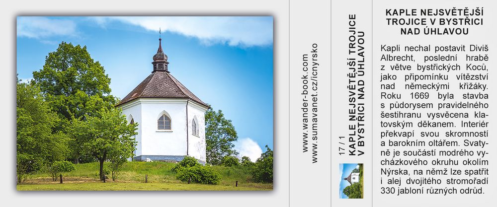 Kaple Nejsvětější Trojice v Bystřici nad Úhlavou