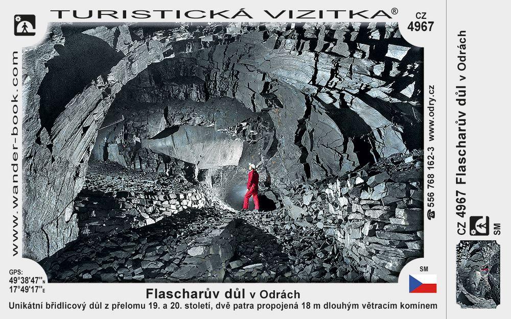 Flascharův důl v Odrách