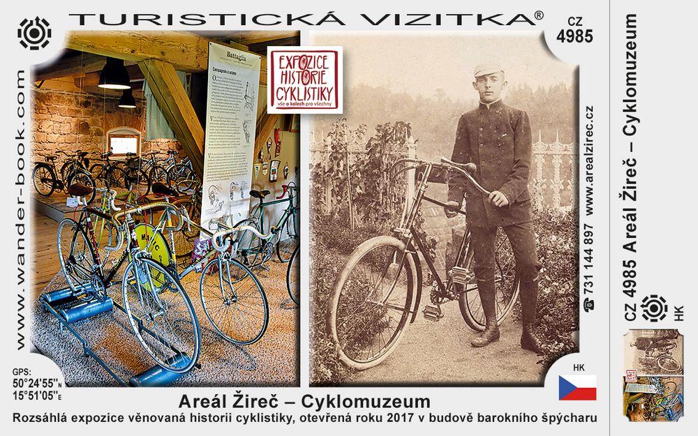 Areál Žireč – Cyklomuzeum