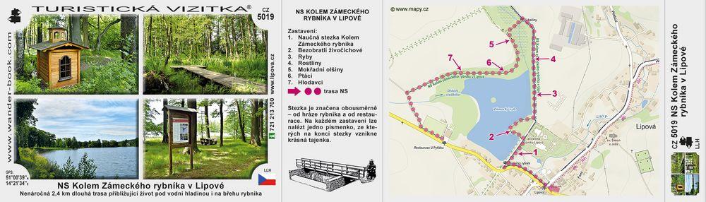 NS Kolem Zámeckého rybníka v Lipové