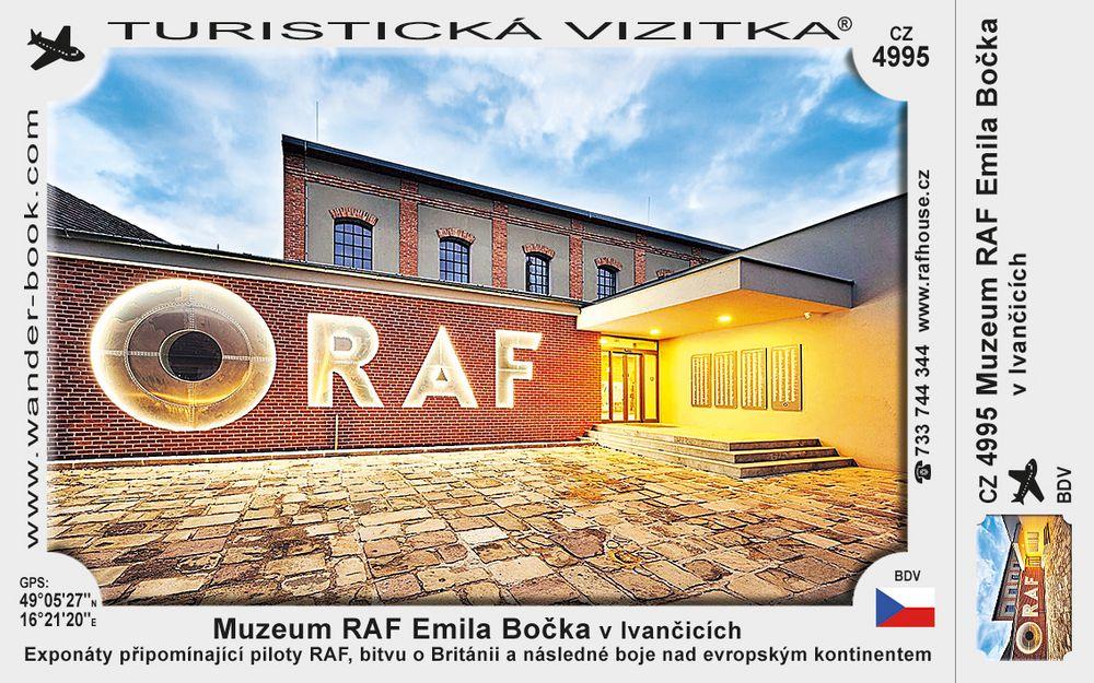 Muzeum RAF Emila Bočka v Ivančicích