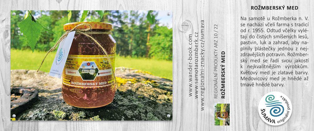 Rožmberský med
