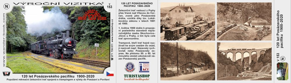 120 let Posázavského pacifiku  1900–2020