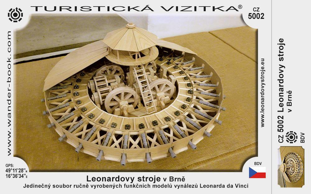 Leonardovy stroje v Brně