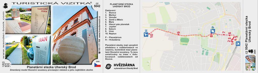 Planetární stezka Uherský Brod