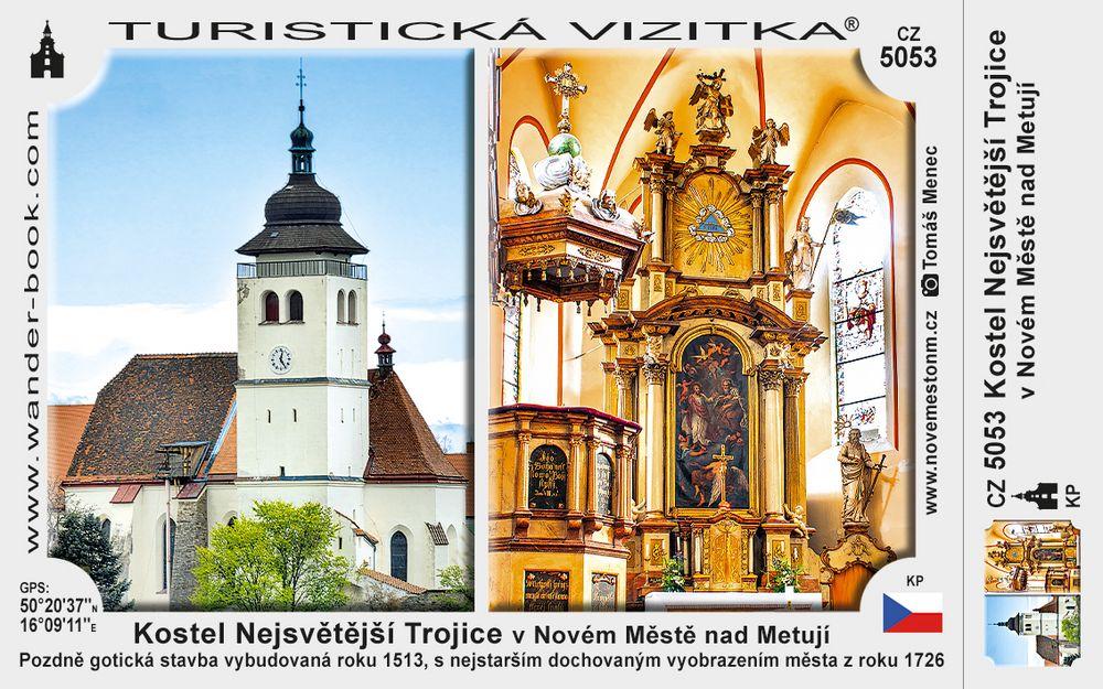 Kostel Nejsvětější Trojice v Novém Městě nad Metují