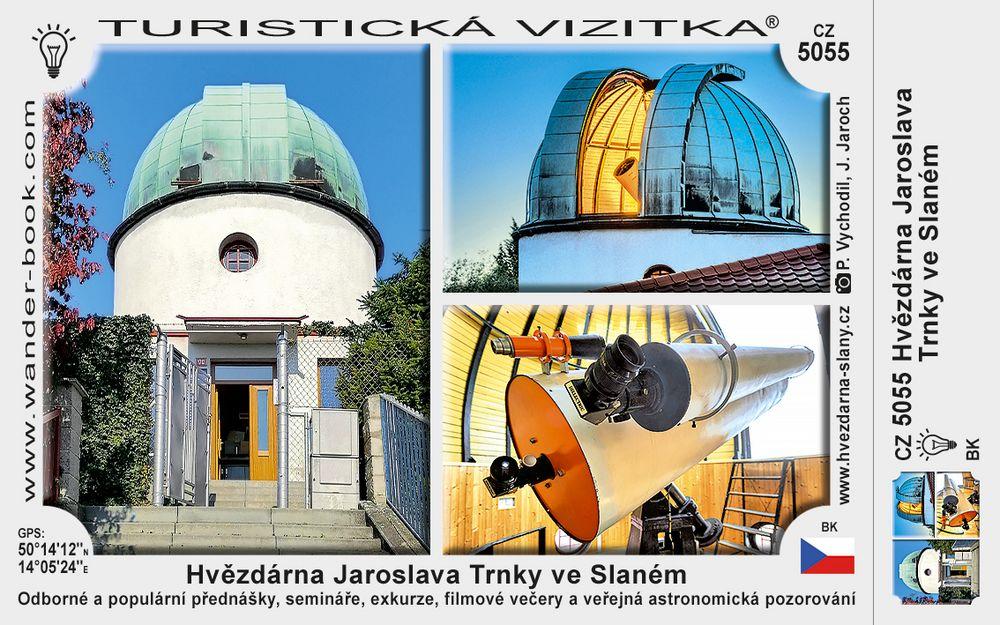 Hvězdárna Jaroslava Trnky ve Slaném