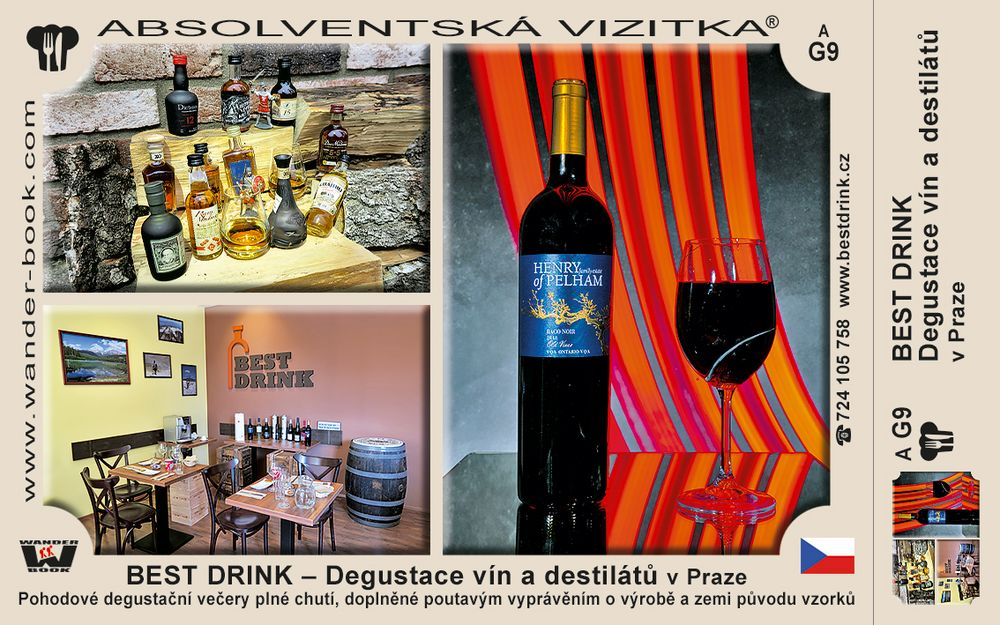 BEST DRINK – Degustace vín a destilátů v Praze