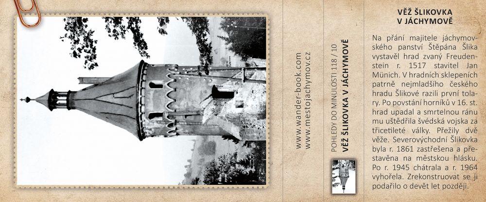 Věž Šlikovka v Jáchymově