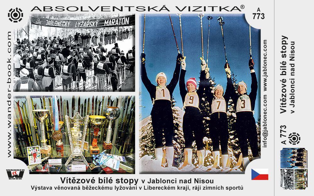 Vítězové bílé stopy v Jablonci nad Nisou