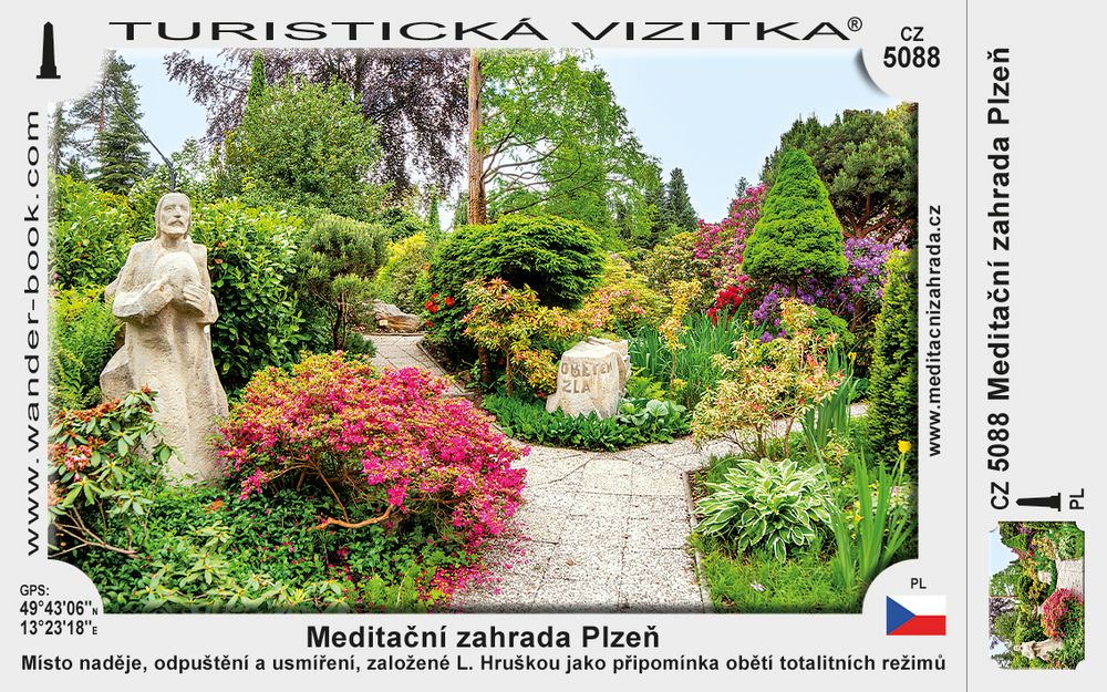 Meditační zahrada Plzeň