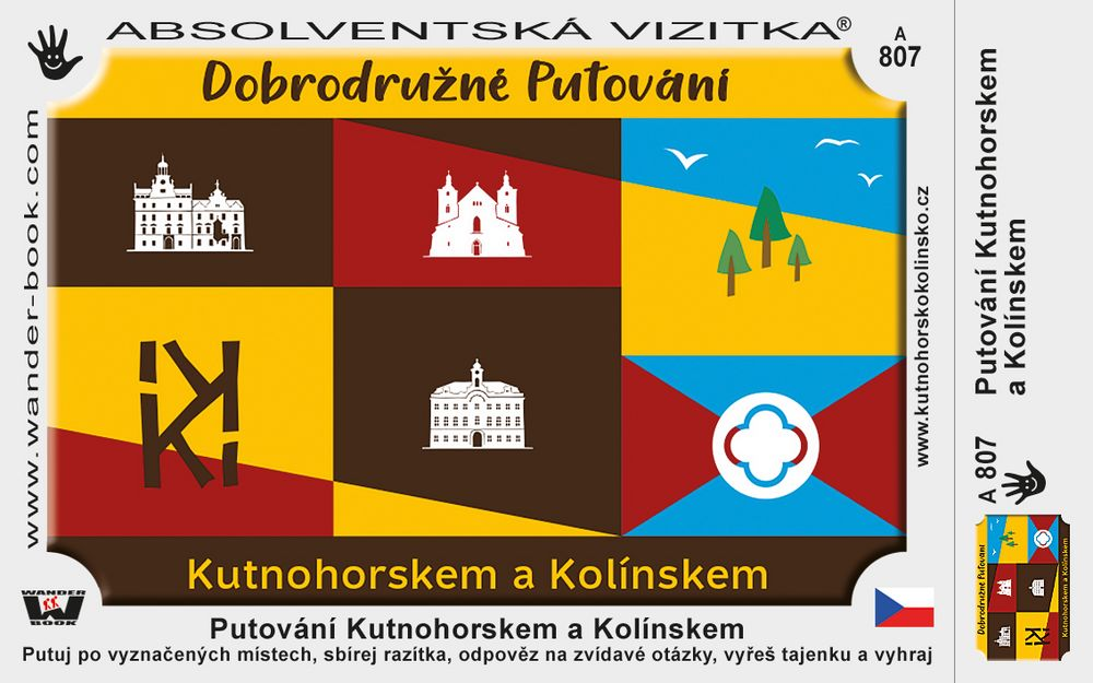 Putování Kutnohorskem a Kolínskem