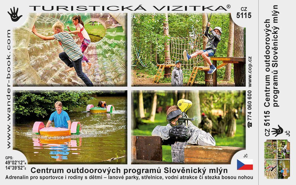 Centrum outdoorových programů Slověnický mlýn