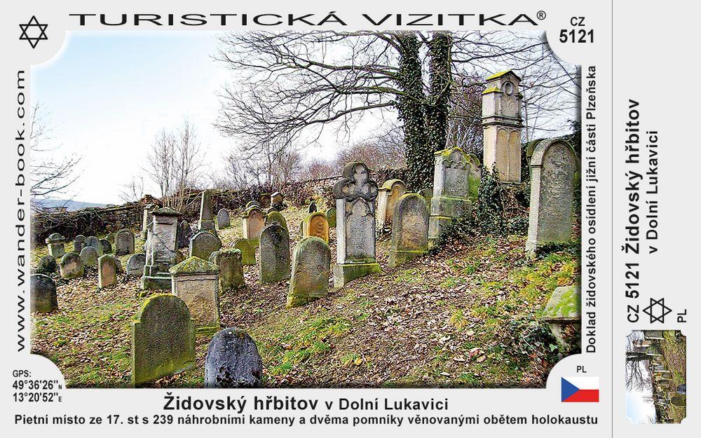 Židovský hřbitov v Dolní Lukavici