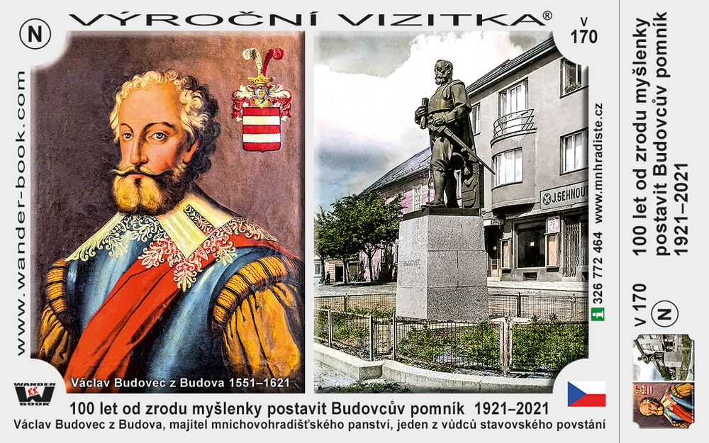100 let od zrodu myšlenky postavit Budovcův pomník  1921–2021
