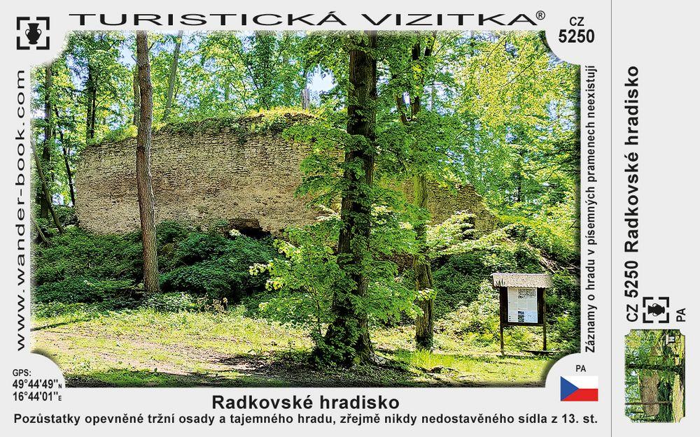 Radkovské hradisko