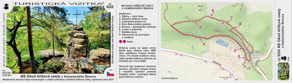 NS Okolí křížové cesty u Kamenického Šenova