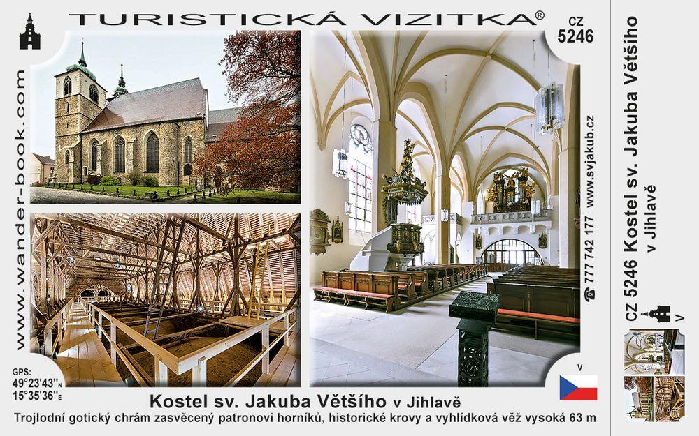 Kostel sv. Jakuba Většího v Jihlavě