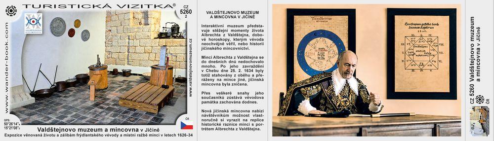Valdštejnovo muzeum a mincovna v Jičíně