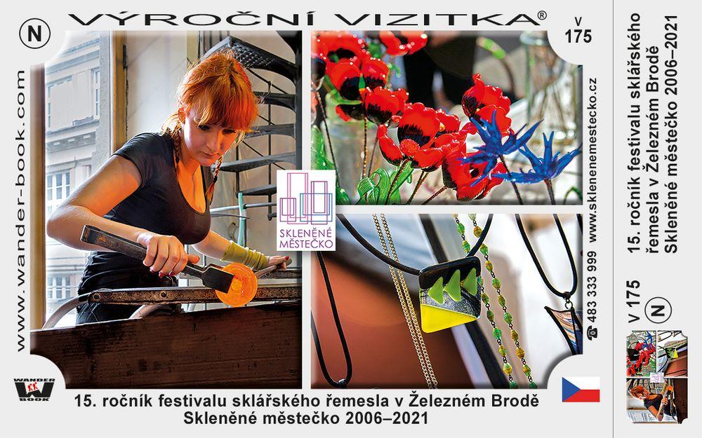 15. ročník festivalu sklářského řemesla v Železném Brodě Skleněné městečko 2006–2021