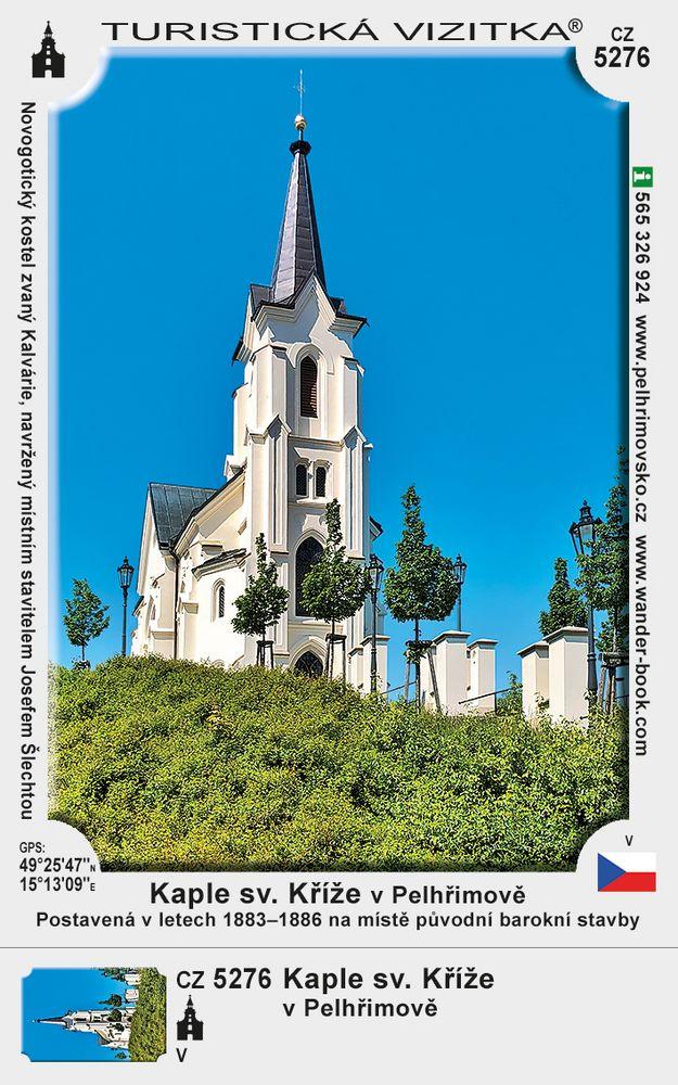 Kaple sv. Kříže v Pelhřimově