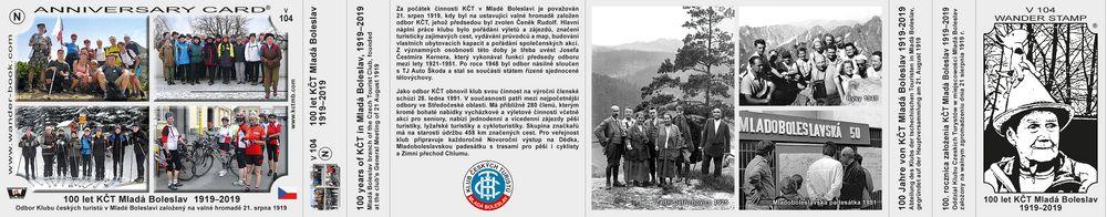 100 let KČT Mladá Boleslav  1919–2019
