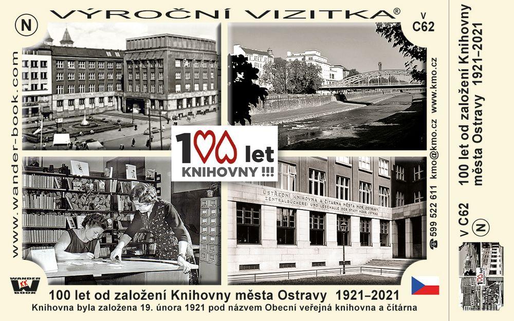 100 let od založení Knihovny města Ostravy  1921–2021