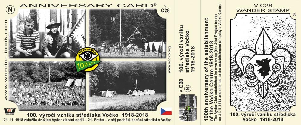 100. výročí vzniku střediska Vočko  1918-2018