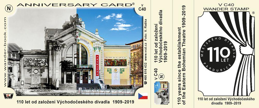 110 let od založení Východočeského divadla  1909–2019