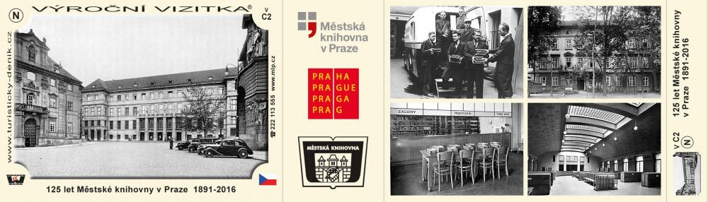 125 let Městské knihovny v Praze 1891-2016