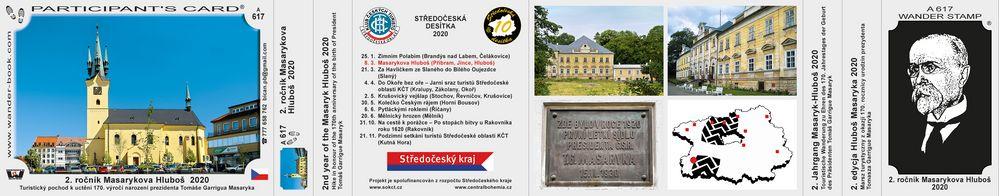 2. ročník Masarykova Hluboš  2020