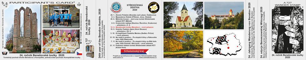 24. ročník Benešovské toulky  2020