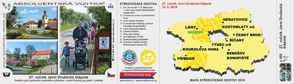 27. ročník Jarní Družecká šlápota