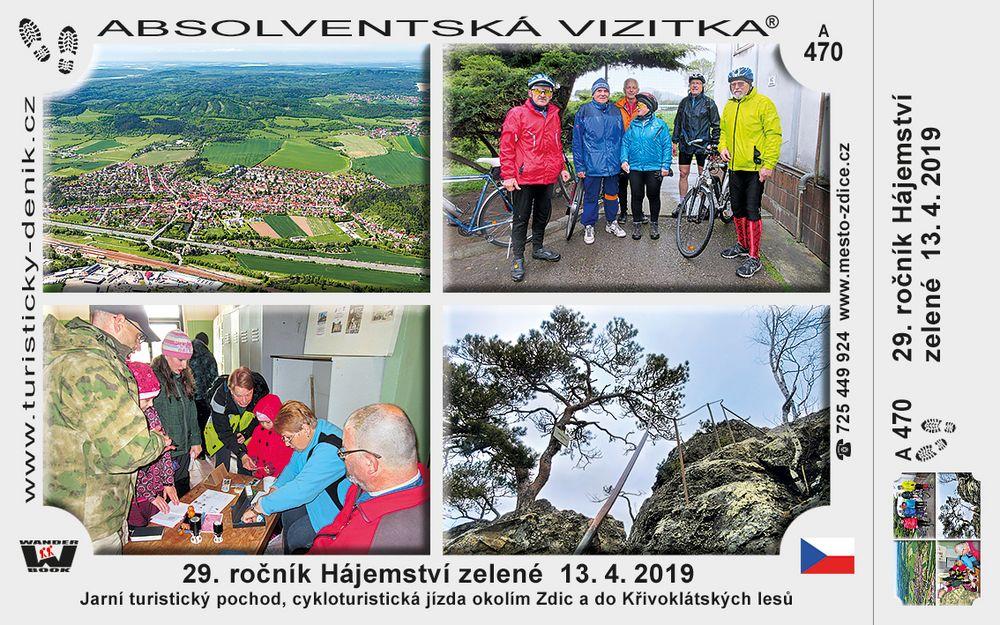 29. ročník Hájemství zelené 13. 4. 2019