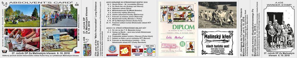 37. ročník DP Za Malínským křenem  6. 10. 2018
