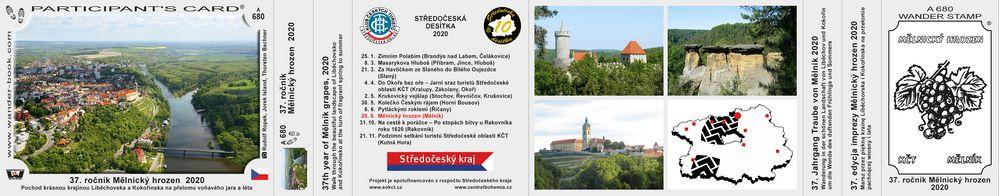 37. ročník Mělnický hrozen  2020