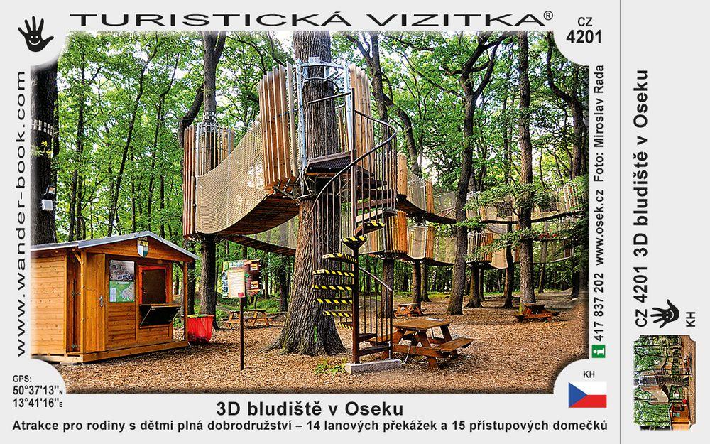 3D bludiště v Oseku