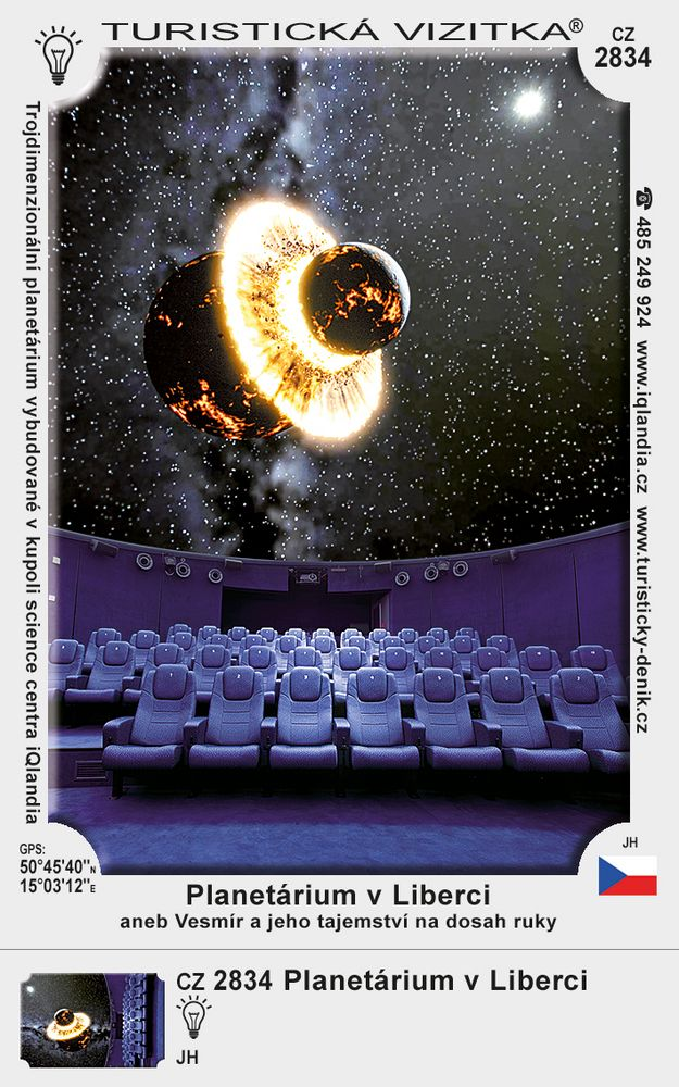 3D Planetárium v Liberci