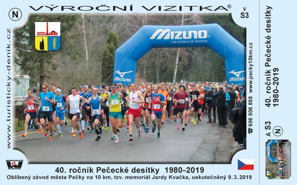 40. ročník Pečecké desítky  1980-2019