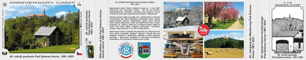 40. ročník pochodu Pod Zelenou Horou  1981–2021