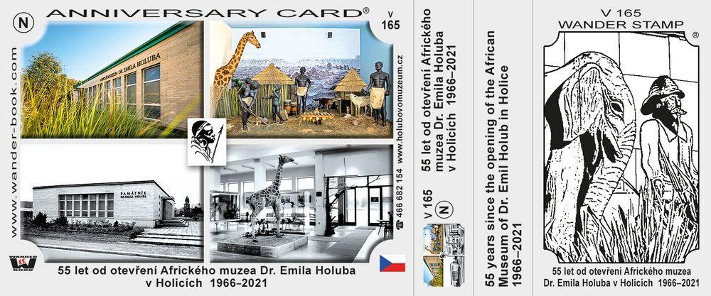 55 let od otevření Afrického muzea Dr. Emila Holuba v Holicích  1966–2021
