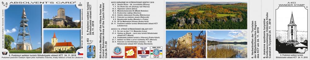 6. Podzimní setkání turistů Středočeské oblasti KČT  24. 11. 2018