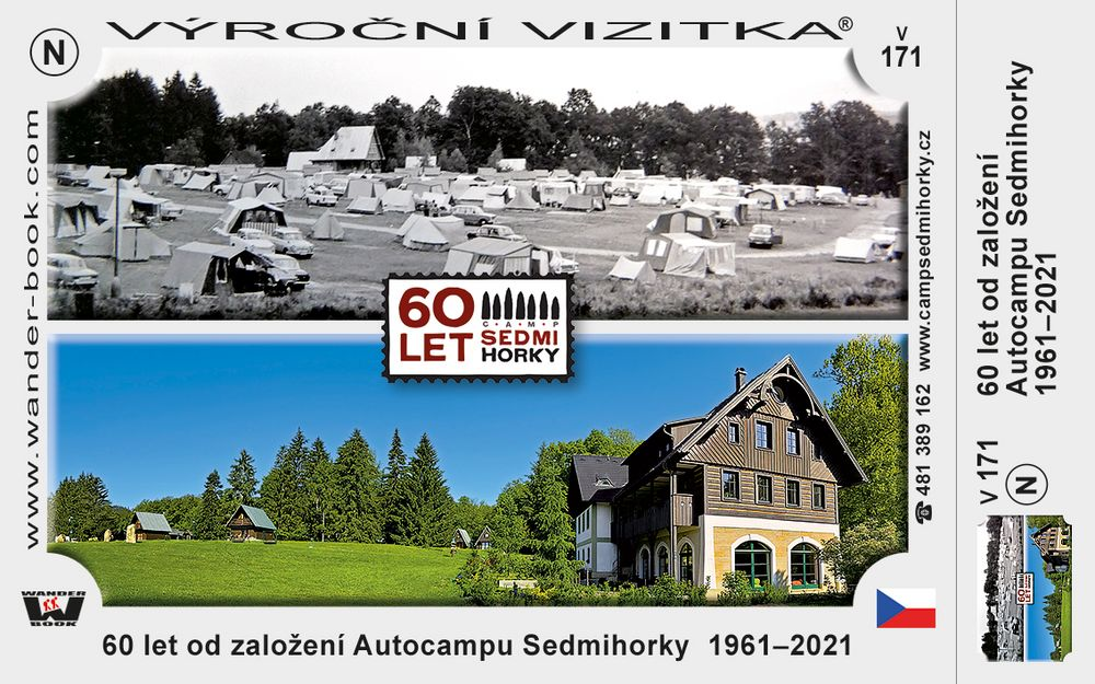 60 let od založení Autocampu Sedmihorky  1961–2021
