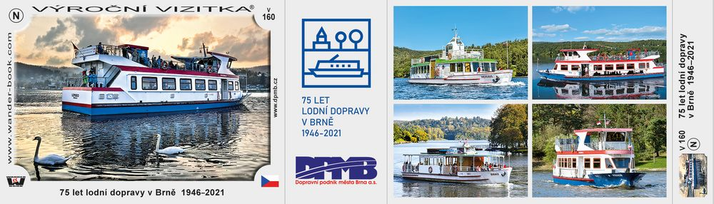 75 let lodní dopravy v Brně  1946–2021